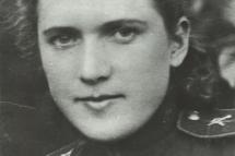 Селиванова Нина Ивановна (1920-2009). Фото периода Великой Отечественной войны.