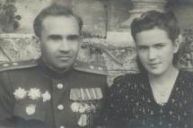 Н. И. Селиванова с мужем генерал-лейтенантом Алексеем Гордеевичем Селивановым.
