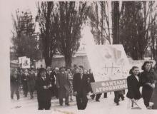 1-Майская-демонстрация-1952-г